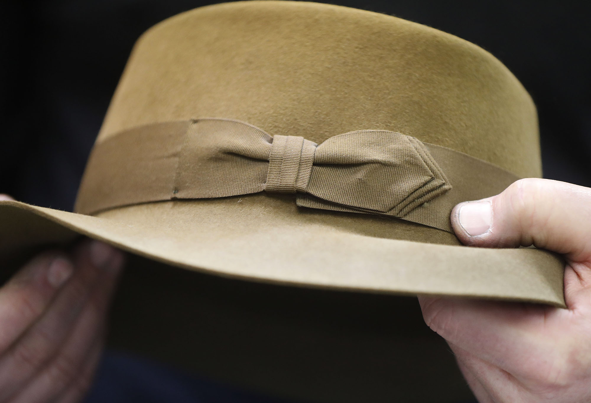 dfcd3d182ba The signature ribbon on a Gary White hat. (Mark Mulville Buffalo News)