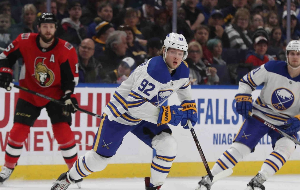 Alex Nylander is among the many players in the Sabres' organization who will get their first taste of postseason hockey. (James P. McCoy/Buffalo News)