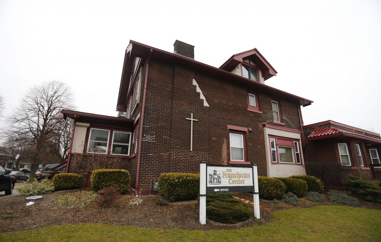 The Franciscan Center is closing after at 38 years of working with young men in South Buffalo on Tuesday, April 3, 2018. (Mark Mulville/Buffalo News)