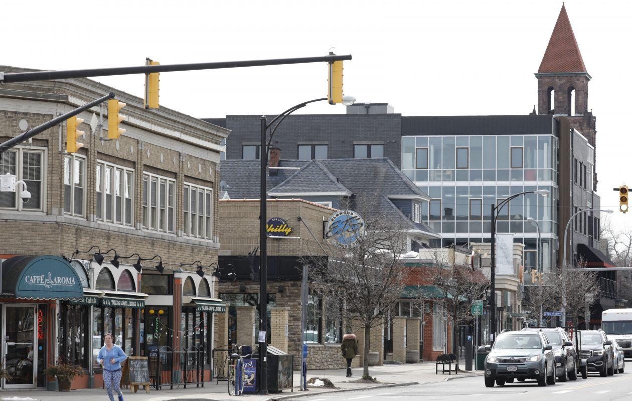 Elmwood Avenue looking south from Bidwell. (Derek Gee/News file photo)