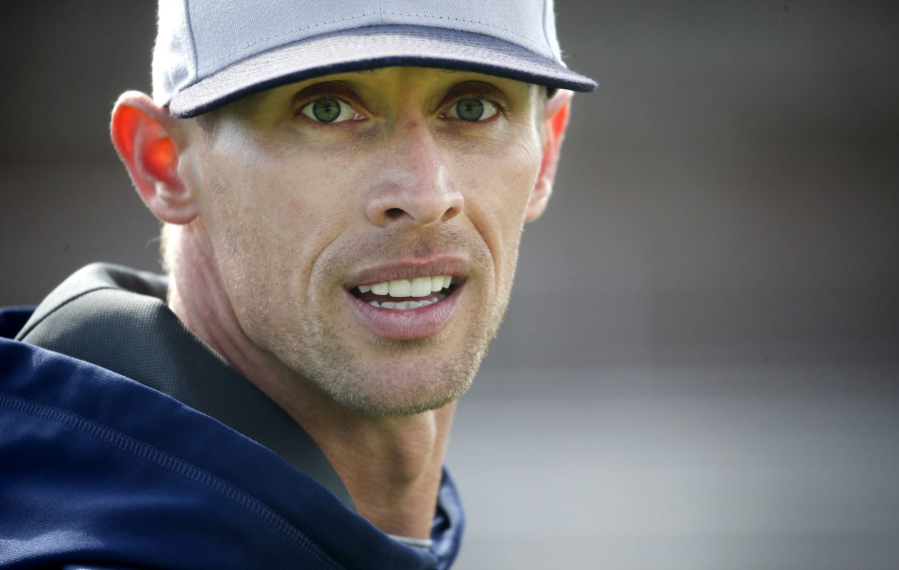 Matt Mazurek is in his first season as Canisius College baseball coach after working for 12 years as an assistant. (Robert Kirkham/Buffalo News)