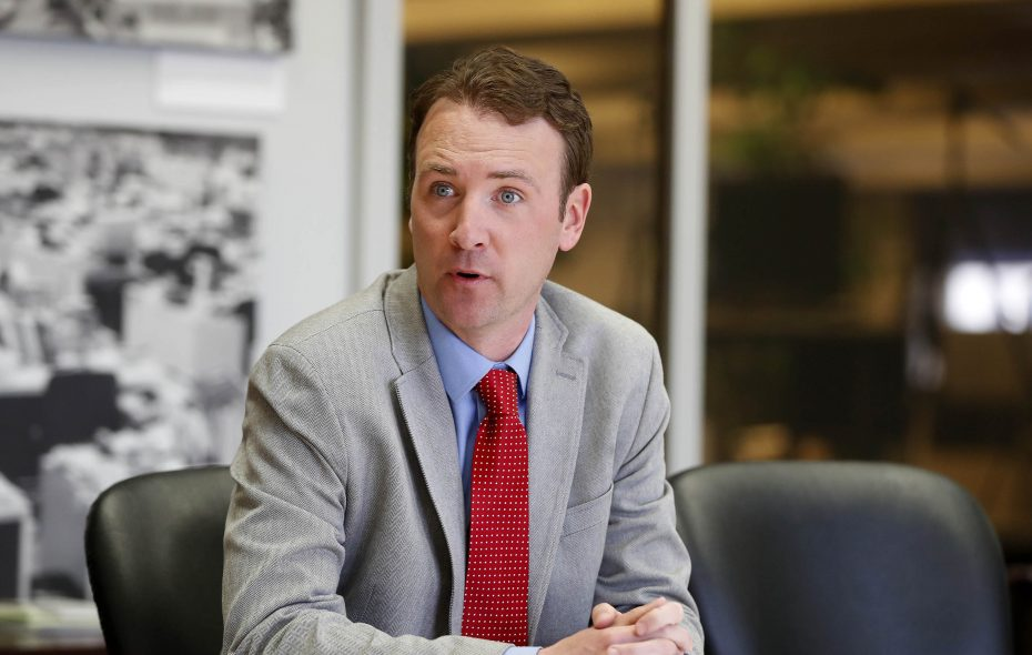 Erik Bohen, a Democrat who ran on the Republican and Conservative lines, won a special election to fill Mickey Kearns' seat in April. (Mark Mulville/Buffalo News)
