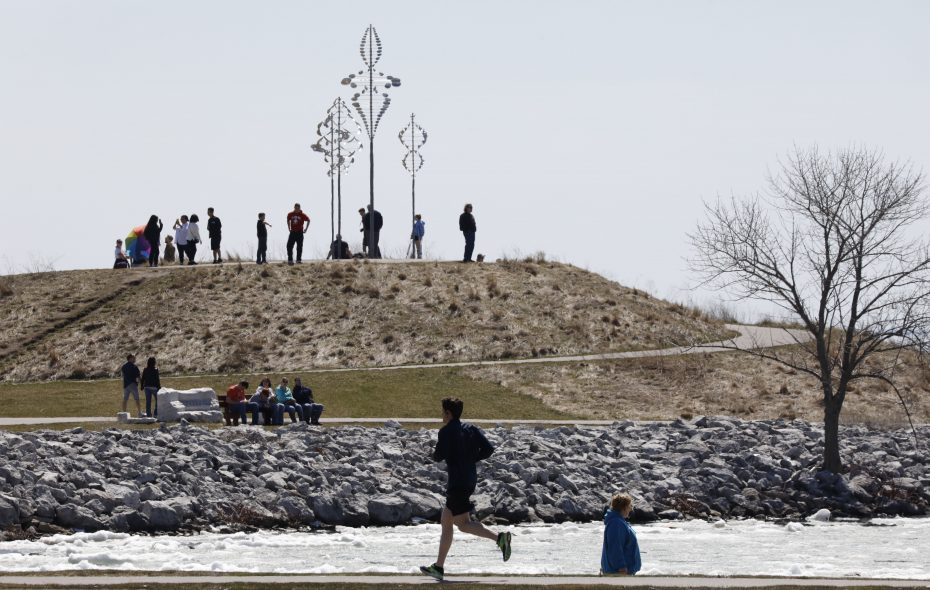 Spring arrives at 5:58 p.m. Wednesday. Whether the weather cooperates could be another story. (Derek Gee/News file photo)