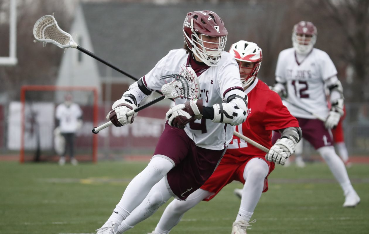 Junior Kellen Pulera leads St. Joe's in points and recently set the school record for most points in a game. (Harry Scull Jr./ Buffalo News)
