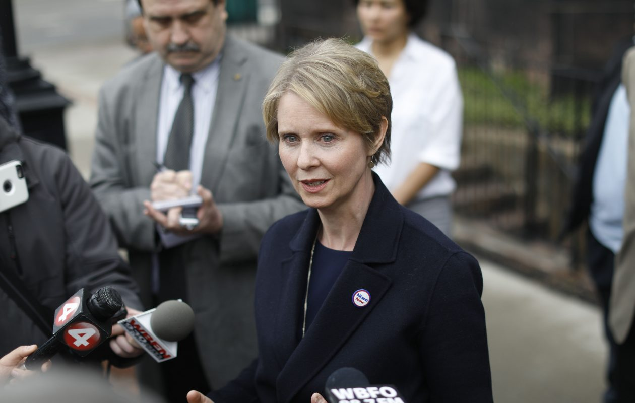 Gubernatorial candidate Cynthia Nixon has jumped on Gov. Andrew M. Cuomo in the wake of the Buffalo Billion verdicts. (Derek Gee/News file photo)