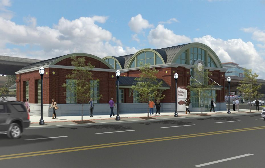 What Buffalo's new train station could look like