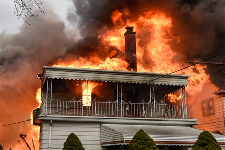 Flames engulf North Buffalo home after explosion