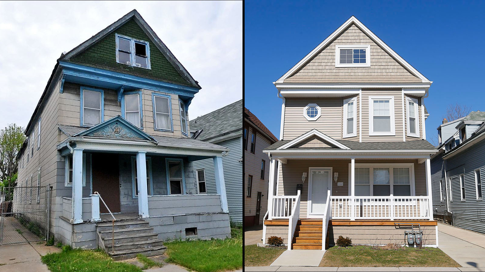 How Buffalo spent a half-million dollars rehabbing homes that sell ...