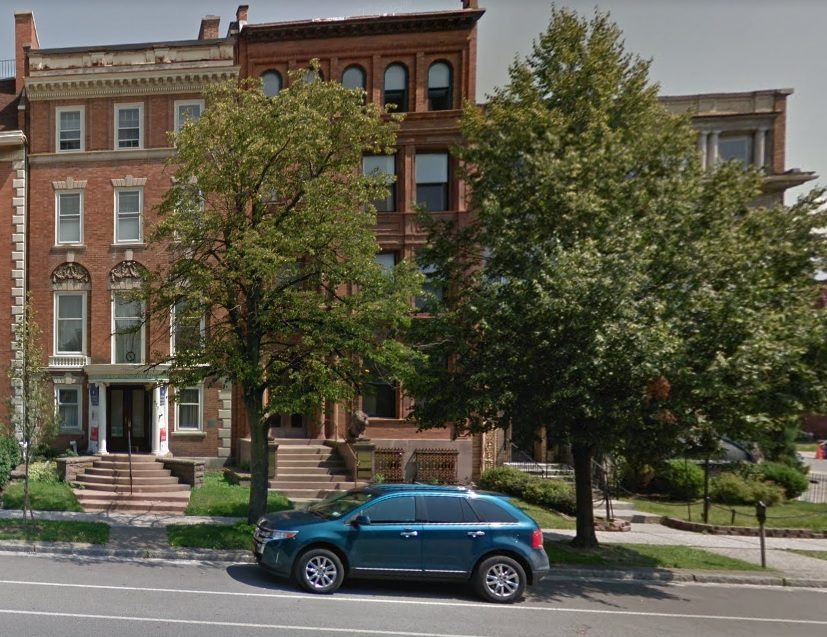 Scott A. Croce bought this historic brownstone at 475 Delaware Ave.