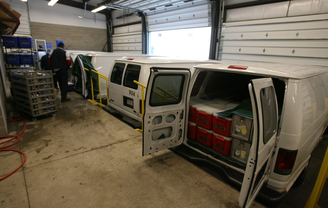 The loading dock at the Meals on Wheels facility at 100 James E. Casey Drive in Buffalo.  Meals on Wheels will be one of the companies offering services for seniors at the show. (Buffalo News file photo)