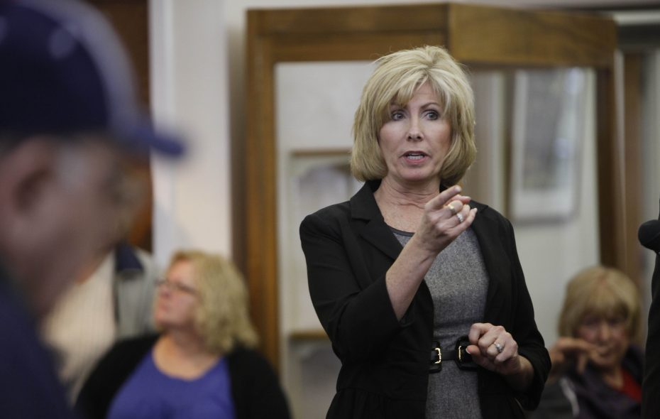 West Seneca Supervisor Sheila Meegan was among town officials who discussed a report on transparency by the Buffalo Niagara Coalition for Open Government.  (Derek Gee/News file photo)