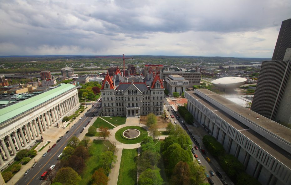 The Capitol Building in Albany. (Harry Scull Jr. /Buffalo News file photo)