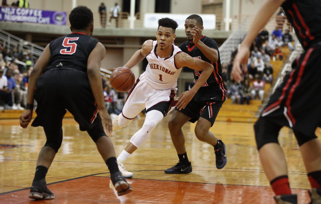 Cheektowaga's Dominick Welch, the leading scorer in Western New York history, was the 2016-17 Allen Wilson Buffalo News Player of the Year. (Harry Scull Jr./Buffalo News file photo)