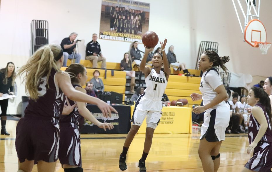 Angel Parker is the third girl from Cardinal O'Hara in the last five years to be named The Buffalo News' Player of the Year. (James P. McCoy/Buffalo News)