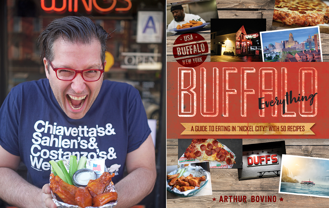 Author Arthur Bovino dishes on his favorite Buffalo food discoveries. (Ryan John Lee)