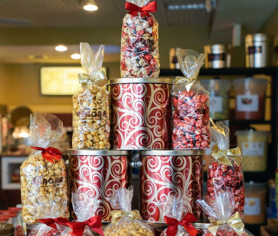 Aurora Popcorn | 3 places to try fresh flavored popcorn | Buffalo Magazine