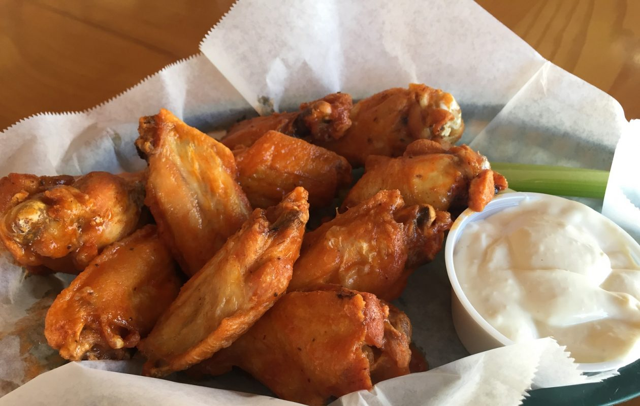 Buffalo wings are popular with locals in the Florida Keys thanks to the O'Connells. (Elizabeth Carey/Special to The News.)