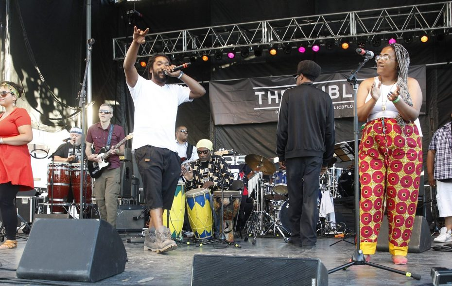 Buffalo Afrobeat Orchestra will perform Aug. 8 as part of the Live at Larkin concert series.  (Sharon Cantillon/Buffalo News file photo)