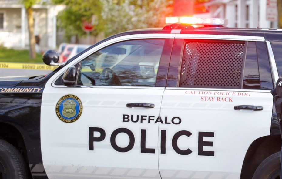 Six Buffalo officers hurt breaking up streetfight