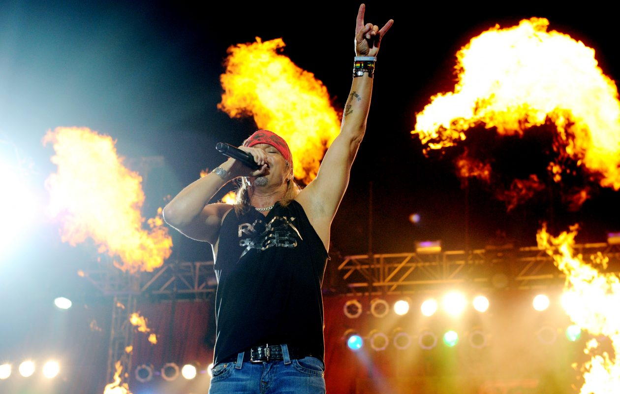 7eb0dd0b76e0 Bret Michaels and Poison return for a concert at the Darien Lake  Amphitheater. (Getty