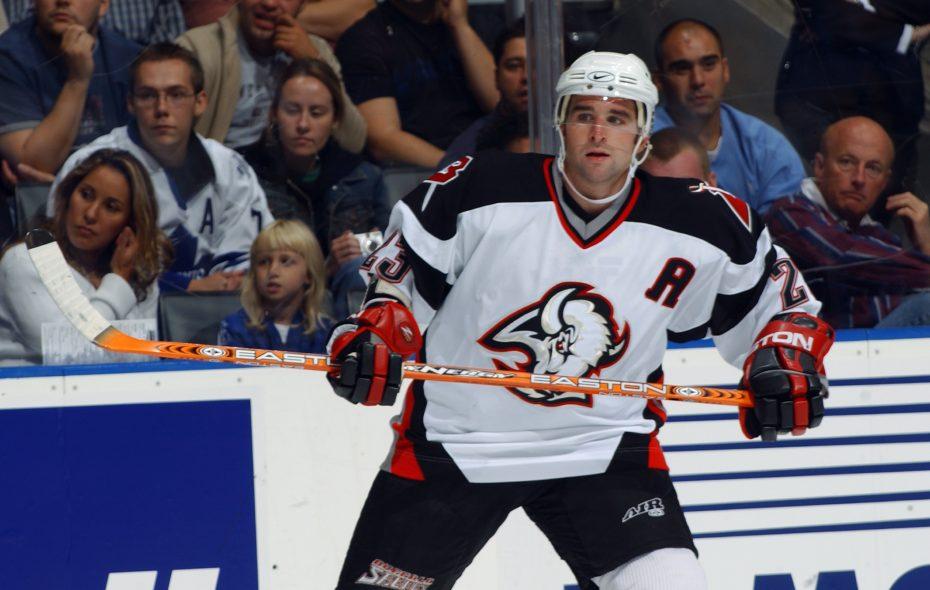 Former Sabres captain Chris Drury. (Getty Images/NHLI)
