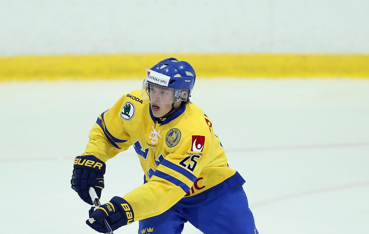 Lawrence Pilut will play for Sweden at the World Championship. (Getty Images)