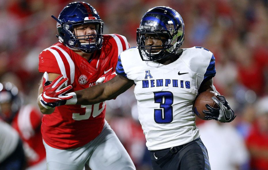 Memphis' Anthony Miller made a pre-draft visit to the Bills on Wednesday. (Getty Images)