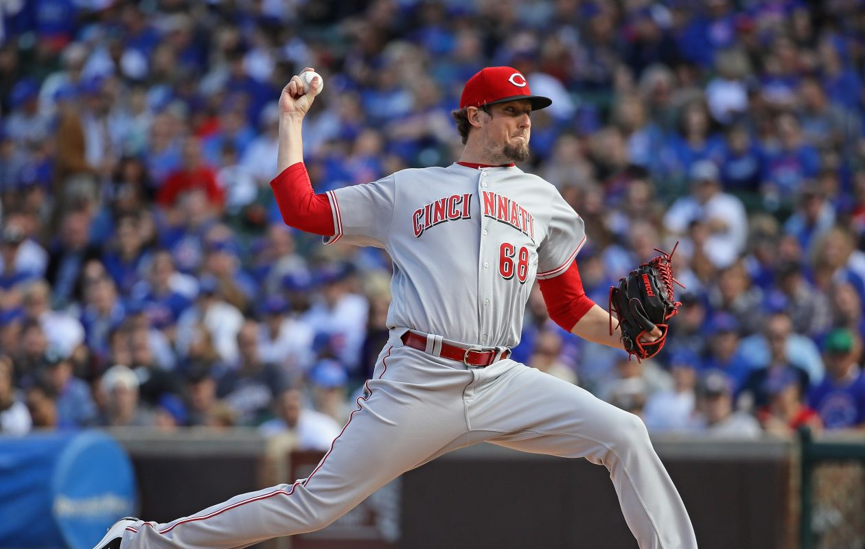Deck McGuire made his MLB debut with the Cincinnati Reds last year. (Getty Images)