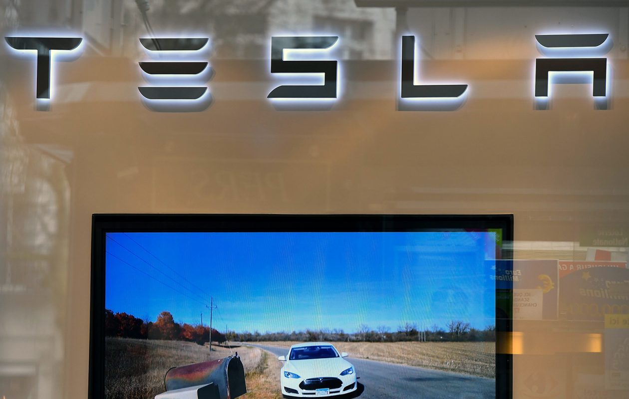 Tesla said Model 3 production grew, but not as fast as expected, in the first quarter. (EMMANUEL DUNAND/AFP/Getty Images file photo)