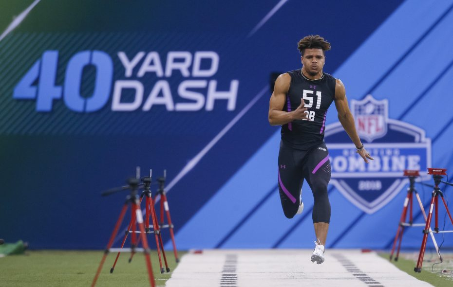 Alabama defensive back Minkah Fitzpatrick is a likely top-10 pick in the upcoming NFL Draft. (Getty Images)