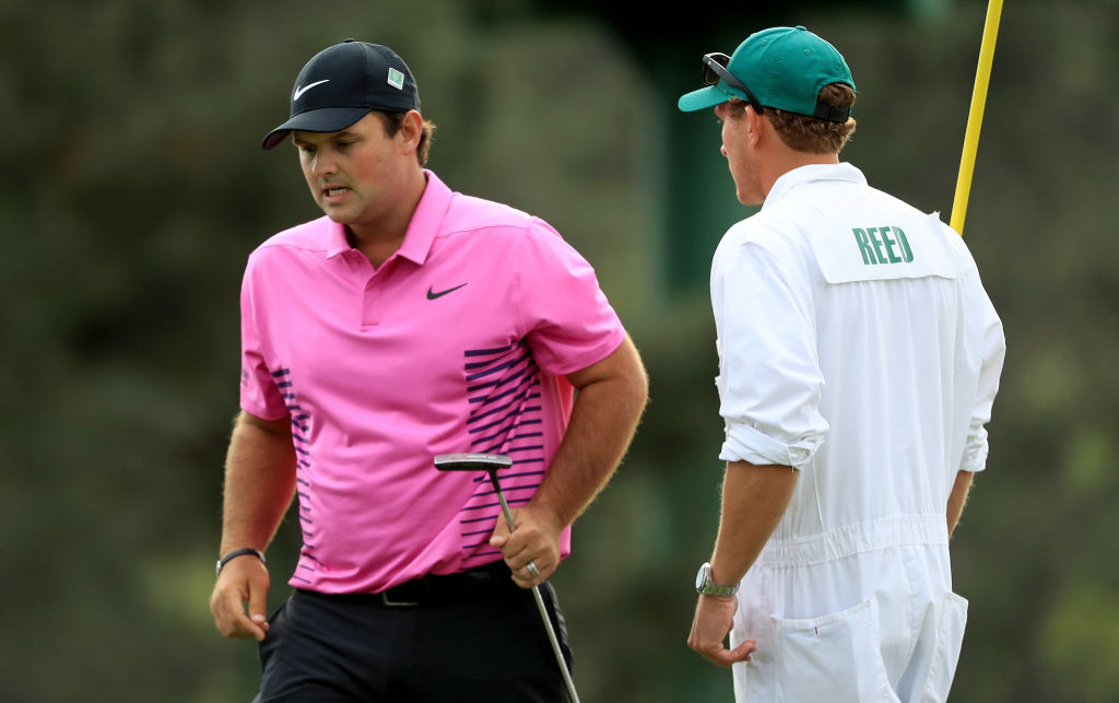 Patrick Reed displayed impressive mental toughness in holding on to win the Masters. (Getty Images)
