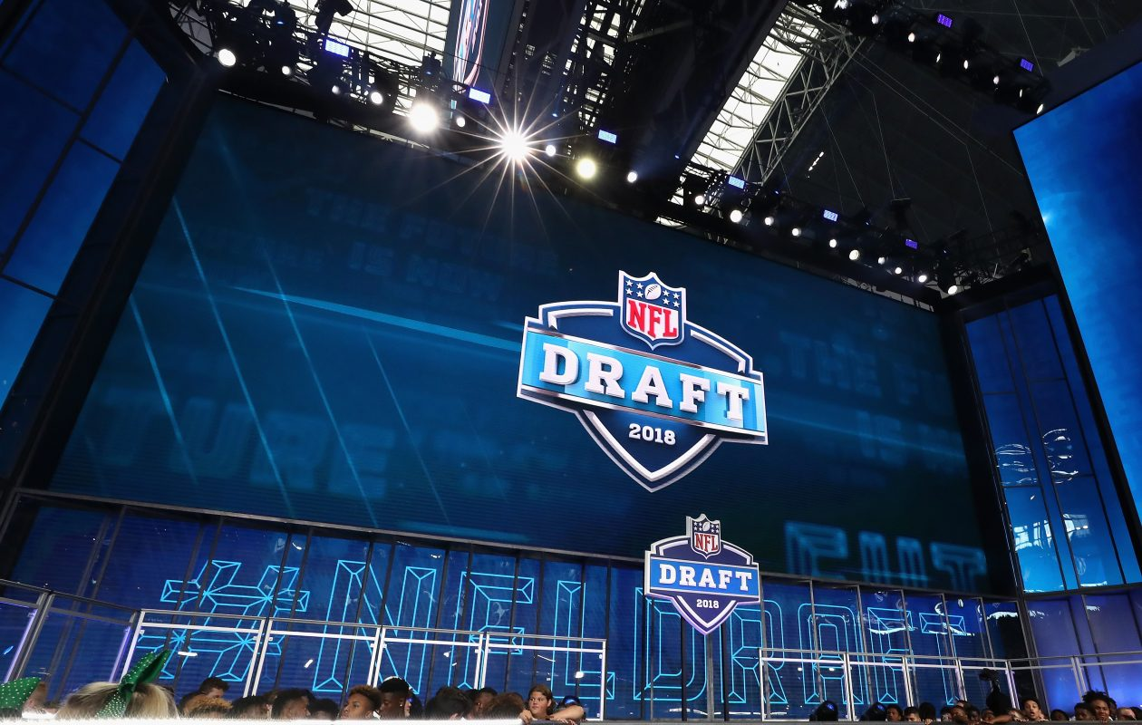 Rounds Four through Seven of the NFL Draft will take place Saturday at AT&T Stadium. (Getty Images)
