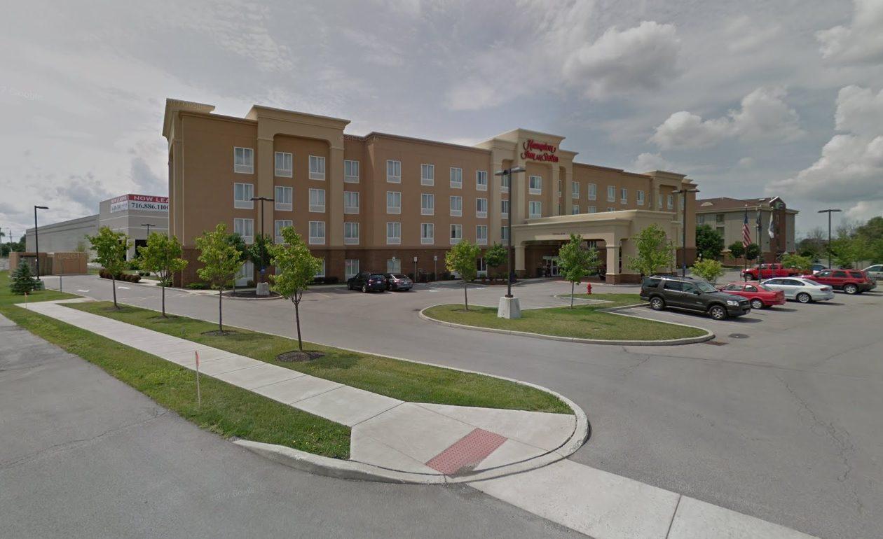 Manga Hotels of Mississauga bought the Hampton Inn & Suites Buffalo Airport.