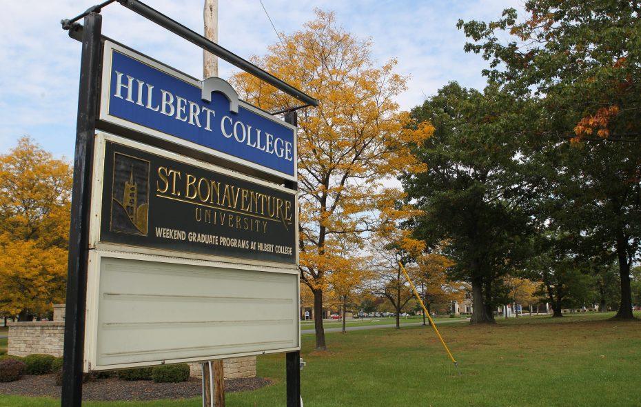 Hilbert College installs new president
