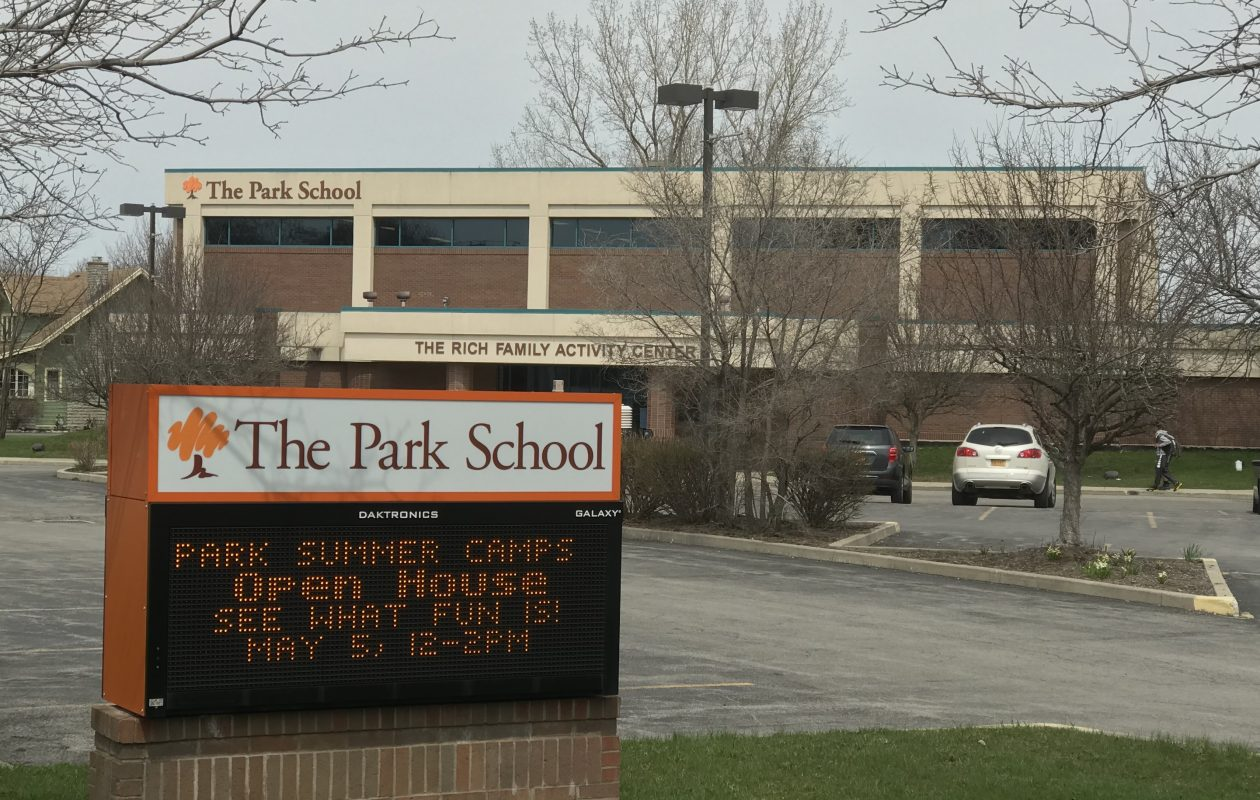 Park School. (Sharon Cantillon/Buffalo News)
