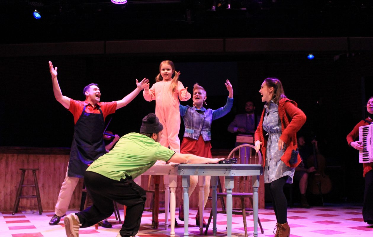 MusicalFare Theatre's production of 'Once' runs through May 27.