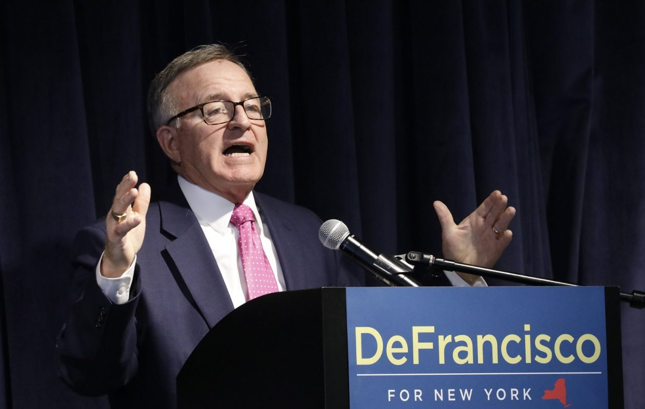 State Sen. John DeFrancisco is one of three Republicans who have announced they will not seek re-election this year. (Derek Gee/Buffalo News)