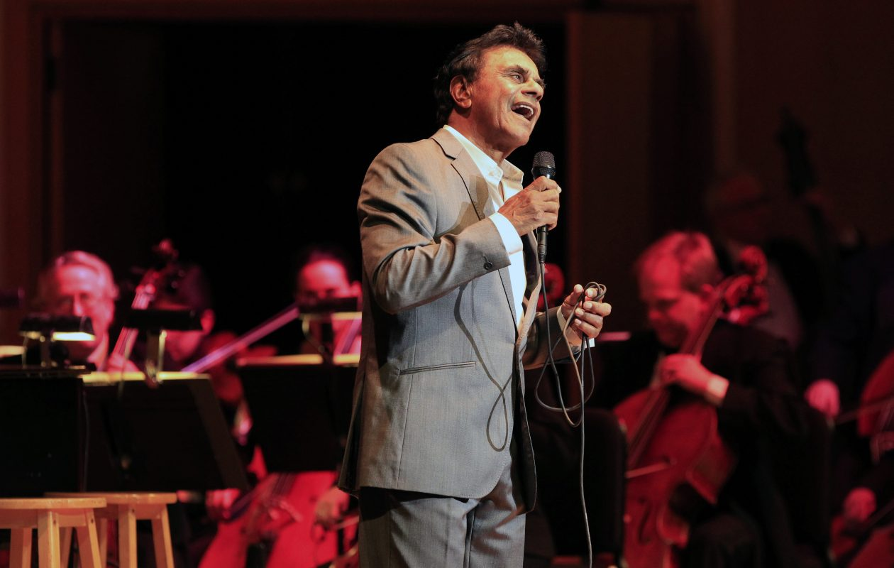 Johnny Mathis has made Buffalo a regular stop on his touring schedule, often performing with the Buffalo Philharmonic Orchestra. (Harry Scull Jr./News file photo)