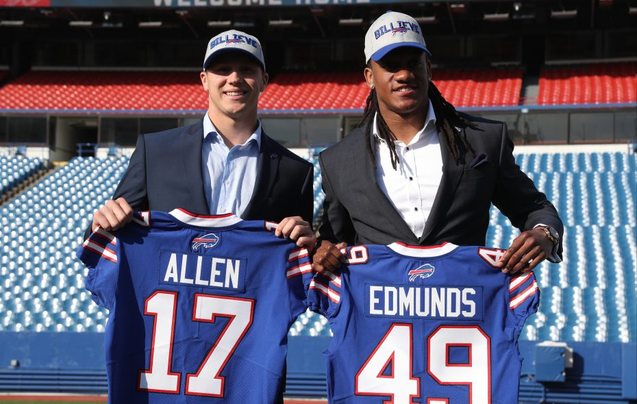 on sale 849b5 8ba38 Bills' draft picks get their jersey numbers – The Buffalo News