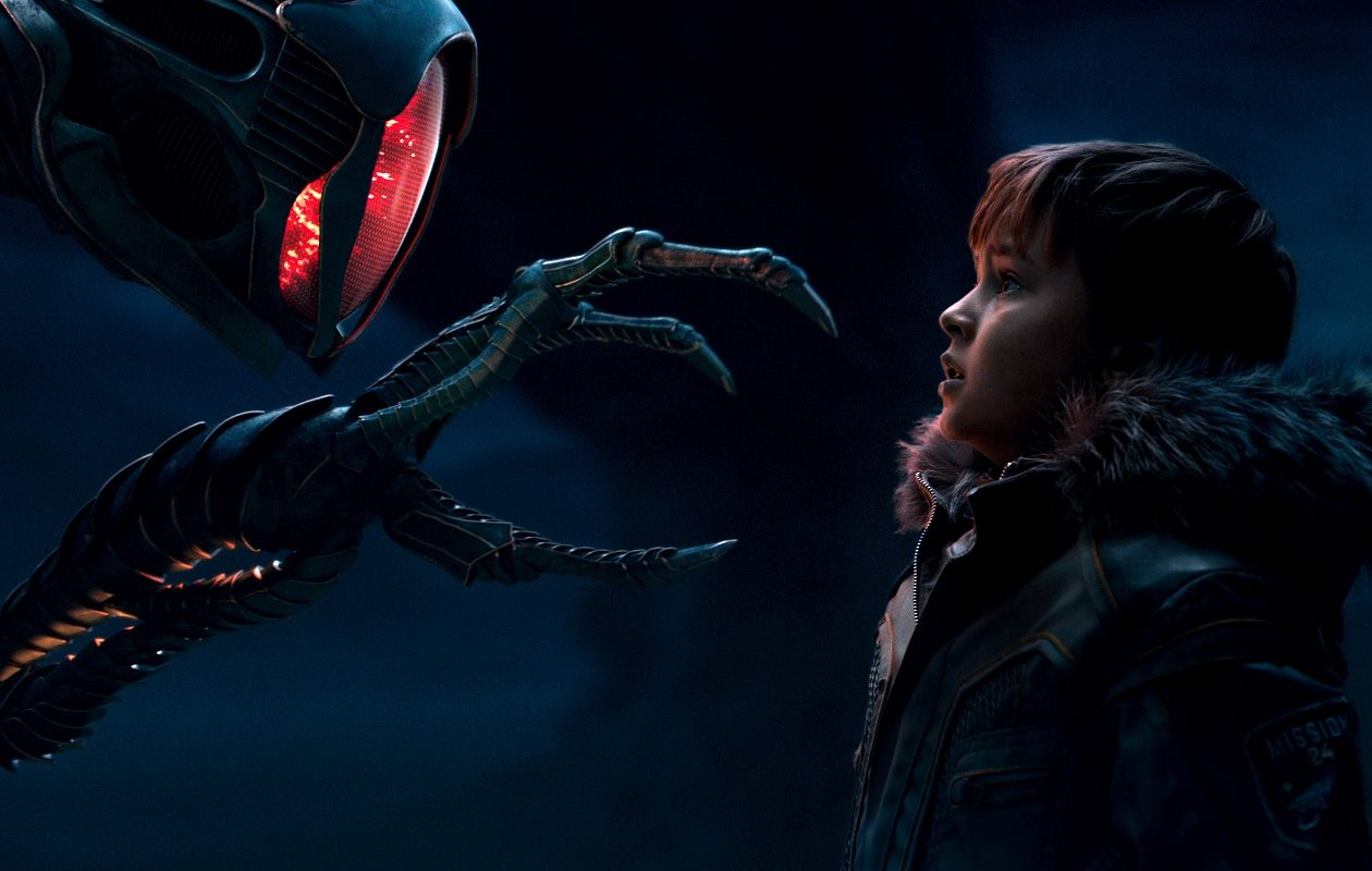 Will meets 'Robot' in the Netflix reboot of 'Lost in Space.' (Netflix)