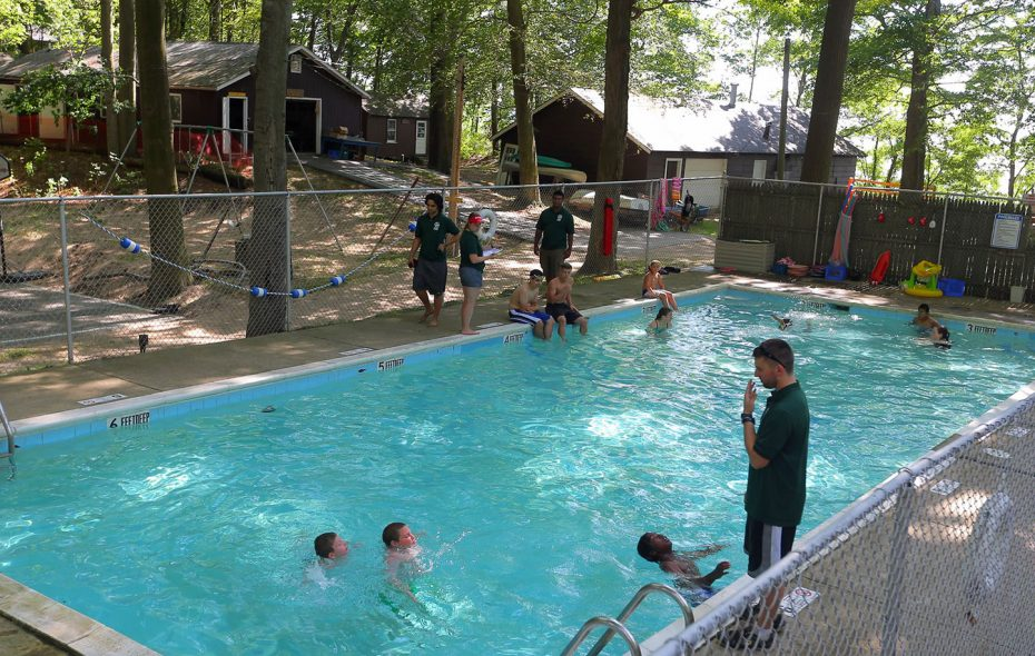 After nearly 90 years, St. Vincent de Paul summer camp held its last session in 2016. (John Hickey/News file photo)