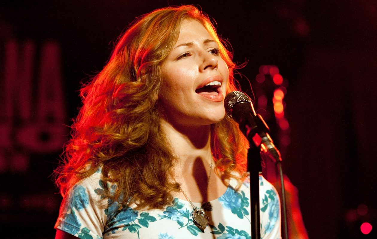 Rachel Price of Lake Street Dive.  Jeff Miers loves new single 'I Can Change' for its understated beauty. (Photo by Erika Goldring/Getty Images )