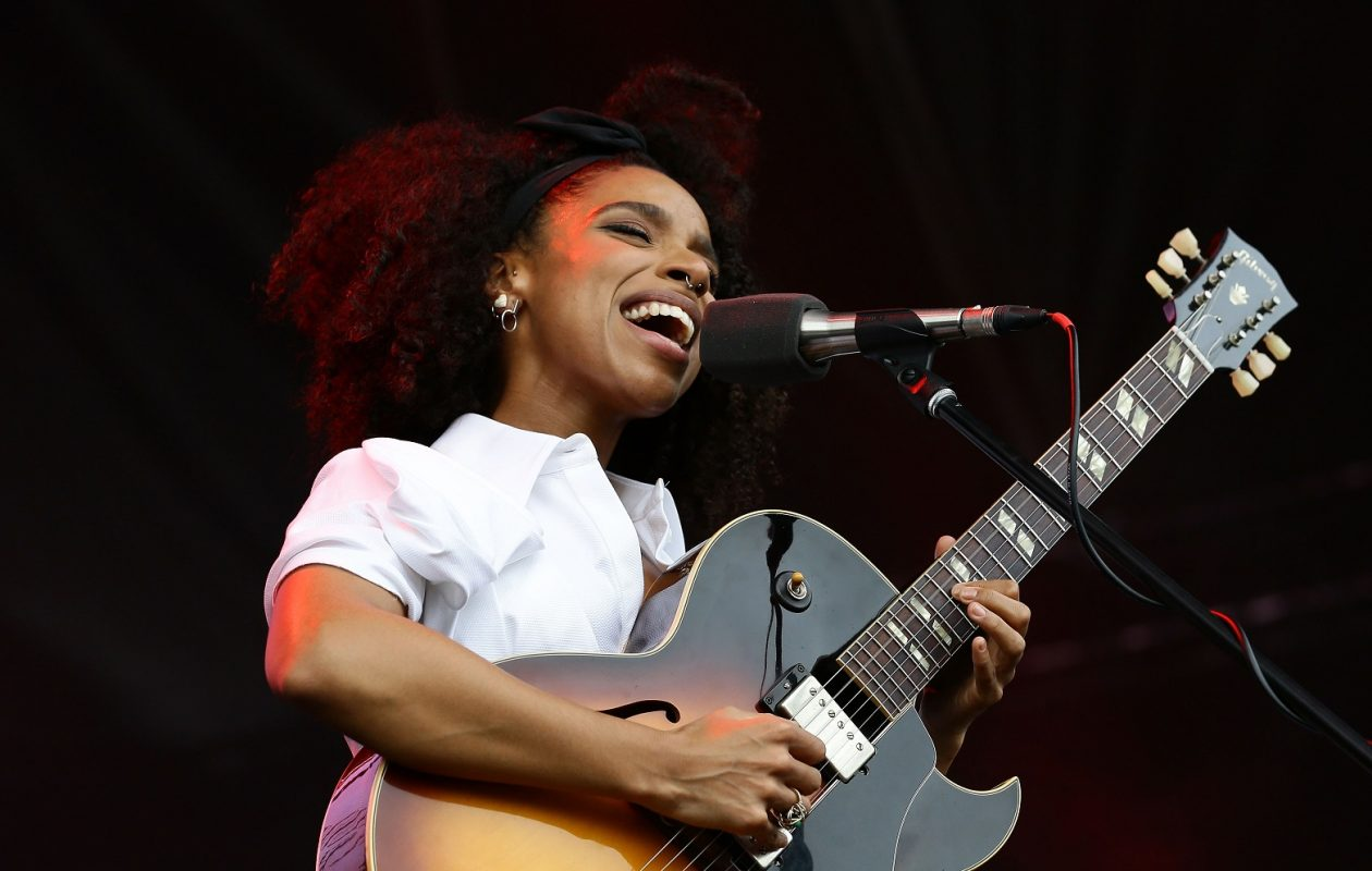 Lianne LaHavas is one of several artists Jeff Miers fell in love with via NPR's Tiny Desk Concert series.  (Suhaimi Abdullah/Singapore GP via Getty Images)
