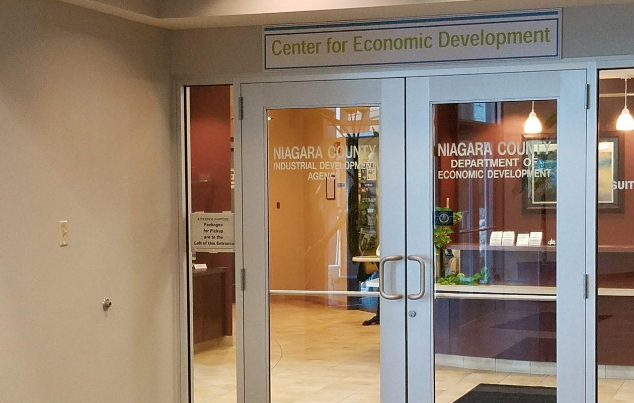 The Niagara County Industrial Development Agency office in Wheatfield. (Thomas J. Prohaska/Buffalo News)