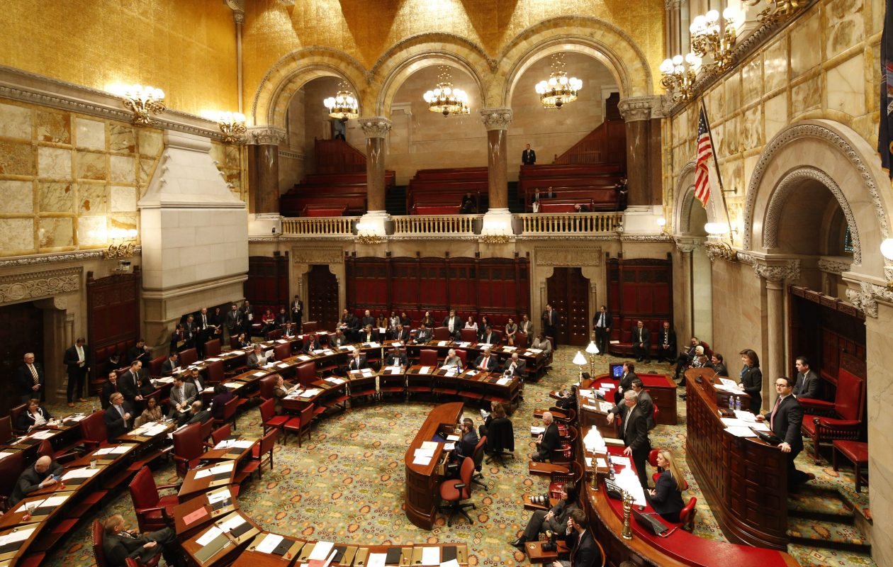 Transparency measures passed by the New York State Senate could be useful, but they avoid dealing with the big issue of campaign giving. (Derek Gee/News file photo)