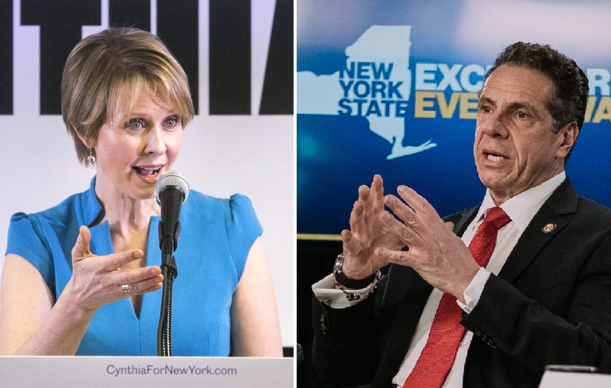 Cynthia Nixon is primarying Gov. Andrew Cuomo. (New York Times photos)