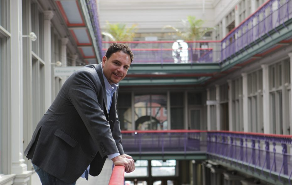 Developer Nick Sinatra recently paid $41,209.48 in back taxes on the Market Arcade building. (Sharon Cantillon/News file photo)