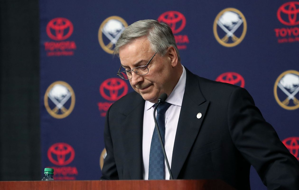 After a losing year on the ice and at the box office, Sabres' owner Terry Pegula expressed his disappointment in a letter to season-ticket holders that arrived Thursday. (Sharon Cantillon/Buffalo News file photo)