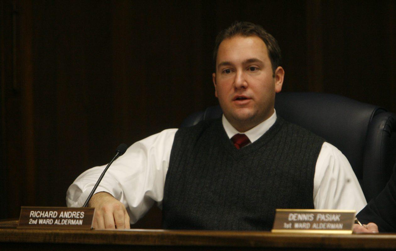 New Niagara County Republican Committee Chairman Richard Andres from a Jan. 4, 2010 file photo.  {File photo/Sharon Cantillon/The Buffalo News}
