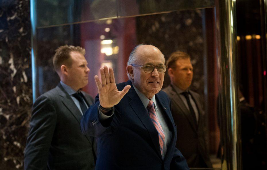 Former New York City mayor Rudy Giuliani. (Getty Images)